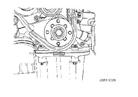 2005 Suzuki Reno Timing Belt