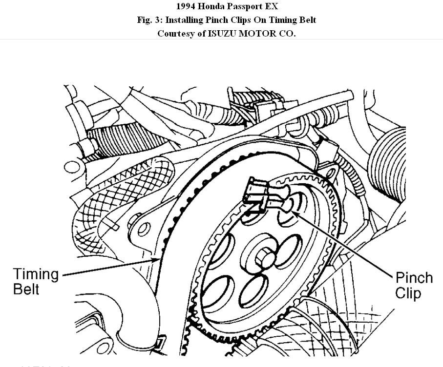 1994 Honda Passport Engine Diagram