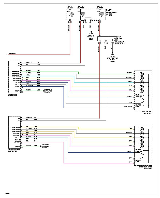 2007 cadillac escalade wiring diagrams wire center \u2022 2007 tahoe parts diagram the heated and cooling seats dont work on either side rh 2carpros com cadillac escalade parts diagram 2007 cadillac escalade stereo wiring diagram
