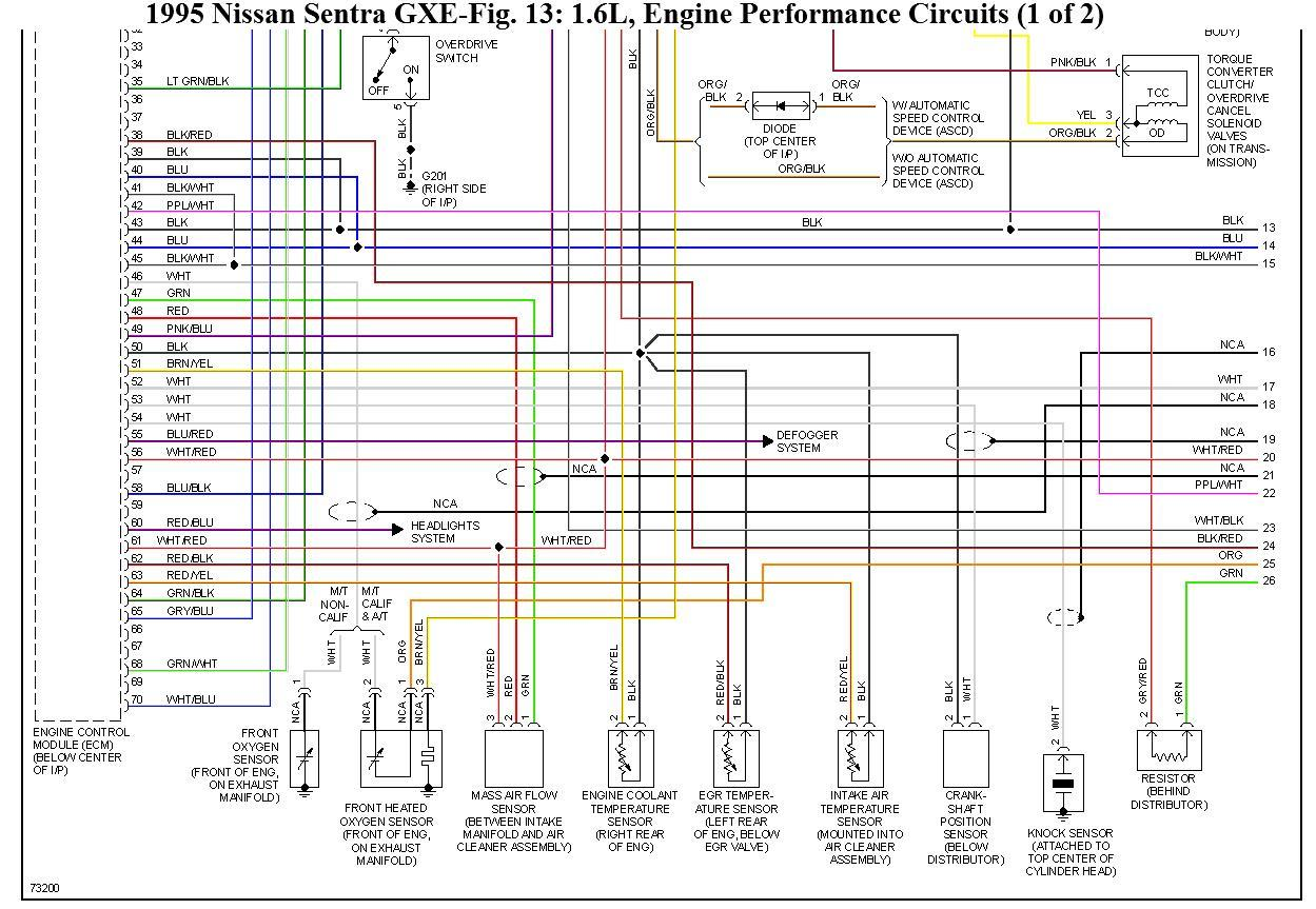 original wiring diagram for nissan sentra gxe 1995 wiring problem, 1996 nissan sentra wiring diagram at soozxer.org