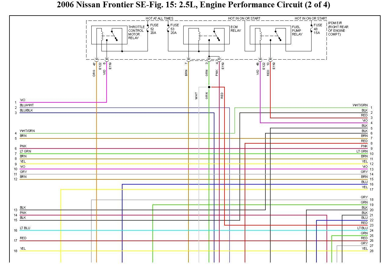 2006 Nissan Bakkie Electrical Wiring Diagram  Good Day  I