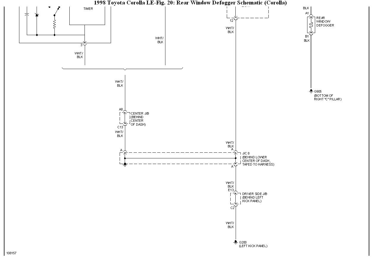 Electrical Problem  Rear Defogger Not Woking