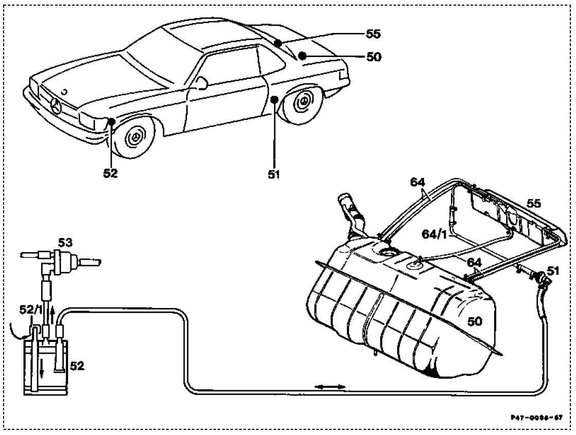 wrg 7045  1984 380sl ignition coil wiring diagram
