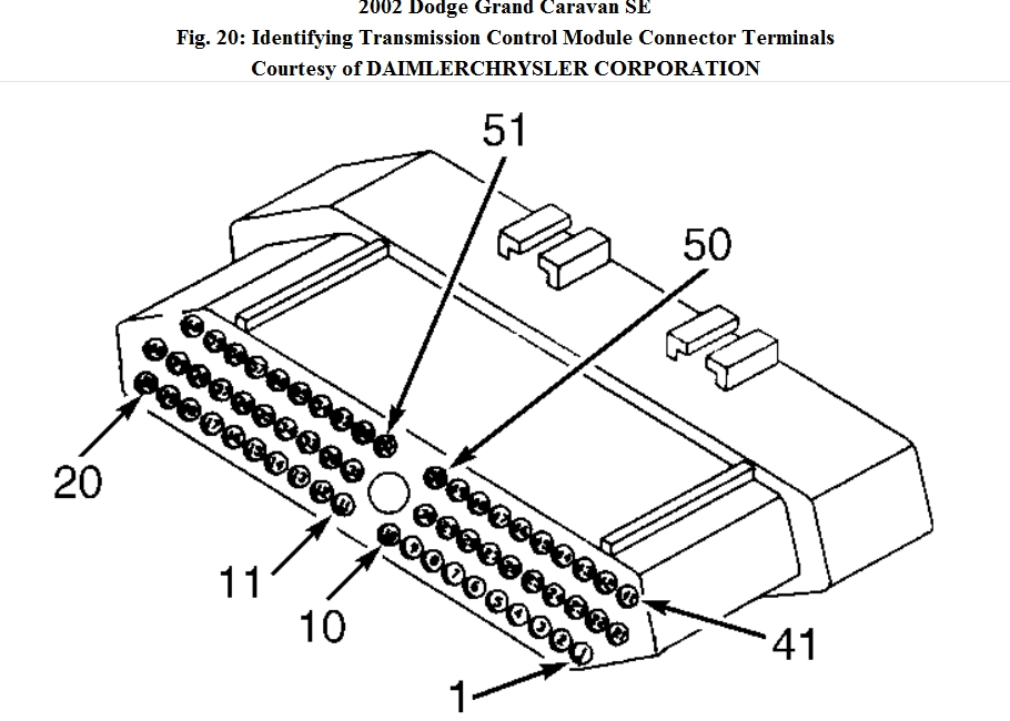 2003 dodge caravan transmission wiring diagram