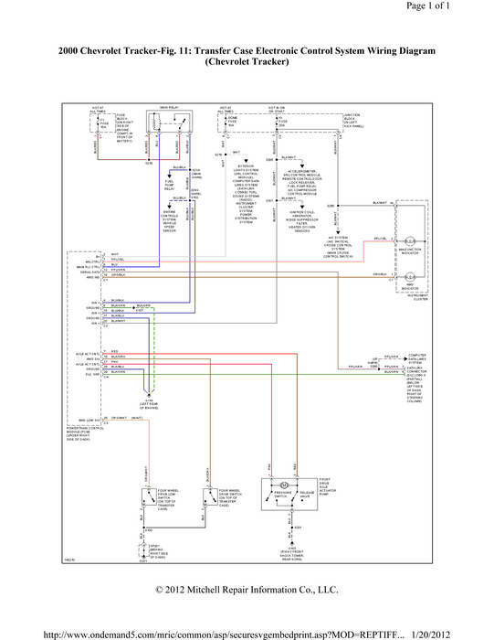 2000 Chevy Tracker Free Wiring Diagram on suzuki sx4 radio wiring diagram