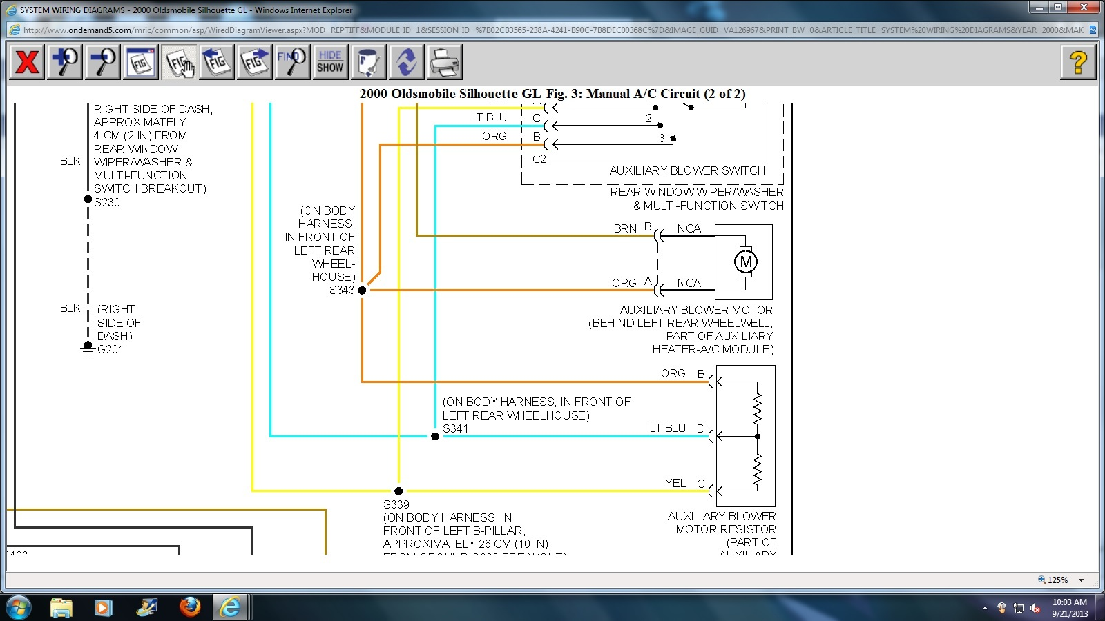 2000 Oldsmobile Silhouette Stereo Wiring Diagram,Silhouette.Free ...