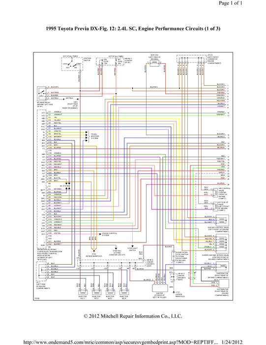 large oxygen sensor failing to read, 95 le sc 1995 toyota previa wiring diagram at edmiracle.co