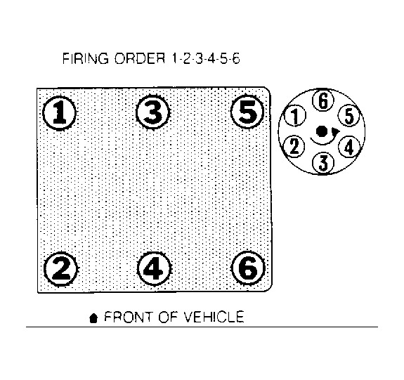 Firing Order I Want To Know The Firing Order Of This Model