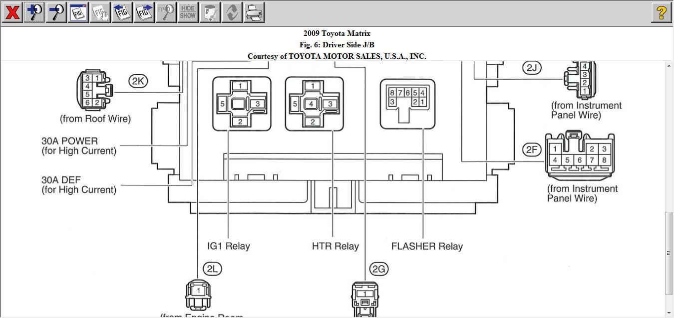 Toyota Matrix Fuse Box Guide And Troubleshooting Of Wiring Diagram 03 Location 2003 27 Images 2007