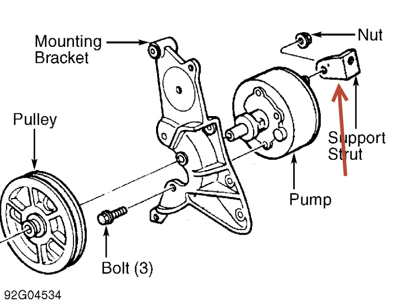 Chrysler Power Steering Diagram