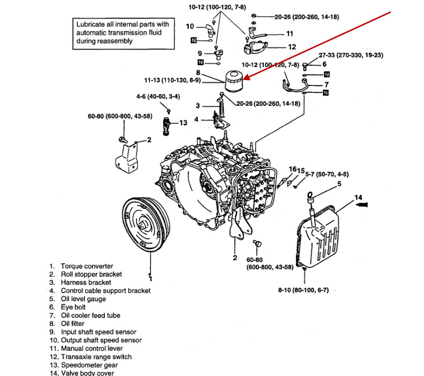 2007 Hyundai Accent Manual Transmission Oil