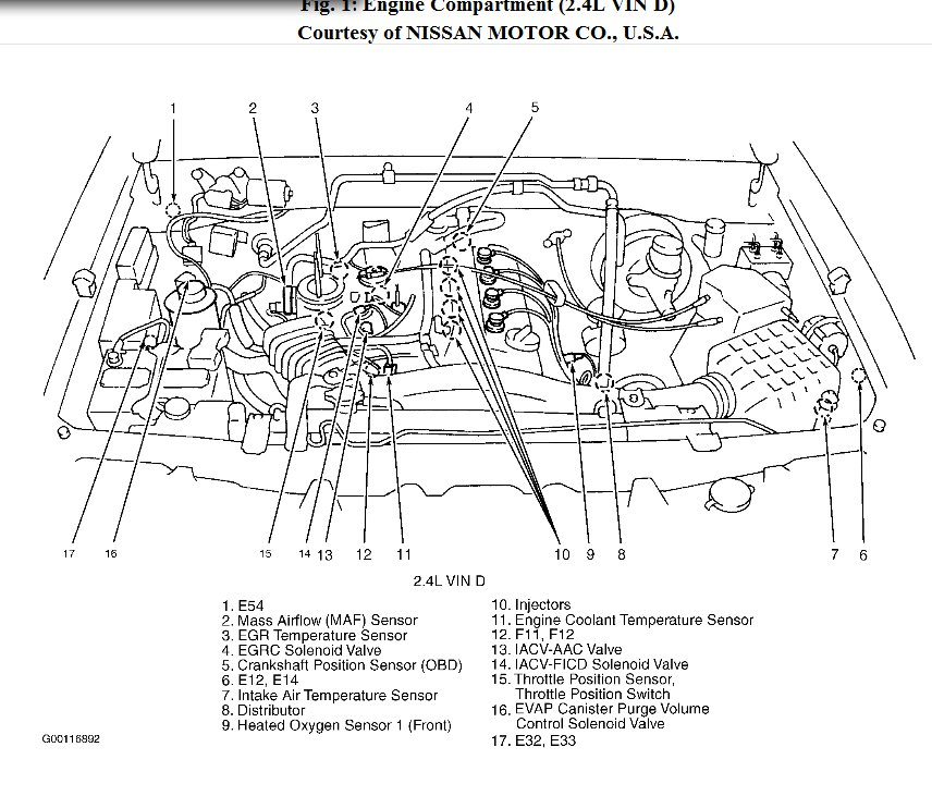 2006 nissan xterra engine diagram