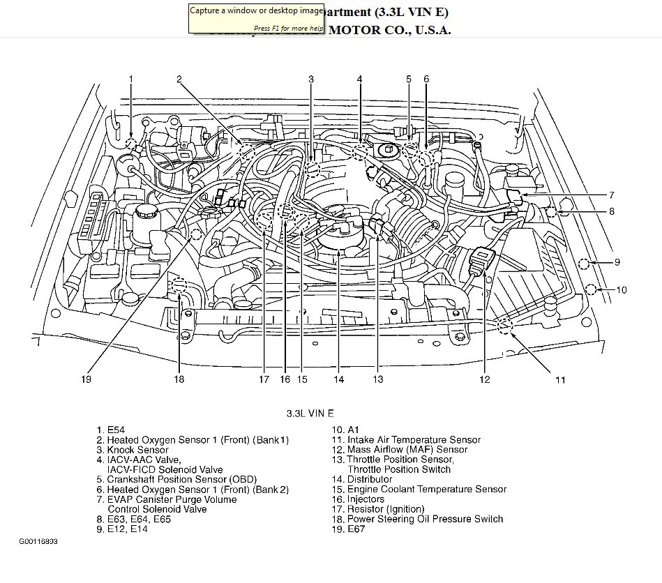 Original on 1999 Ford Mustang Serpentine Belt Diagram