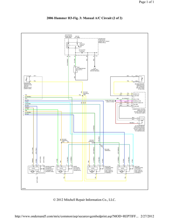 fuse box or electrical problems rear left and right turn signal 2007 Honda Cr-V Wiring Diagram thumb