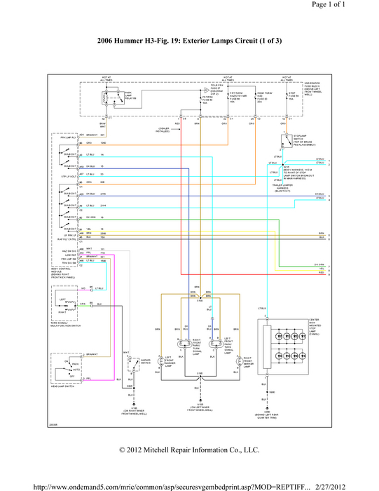 2006 Hummer H3 Stereo Wiring Diagram bull Wiring Diagram For Free