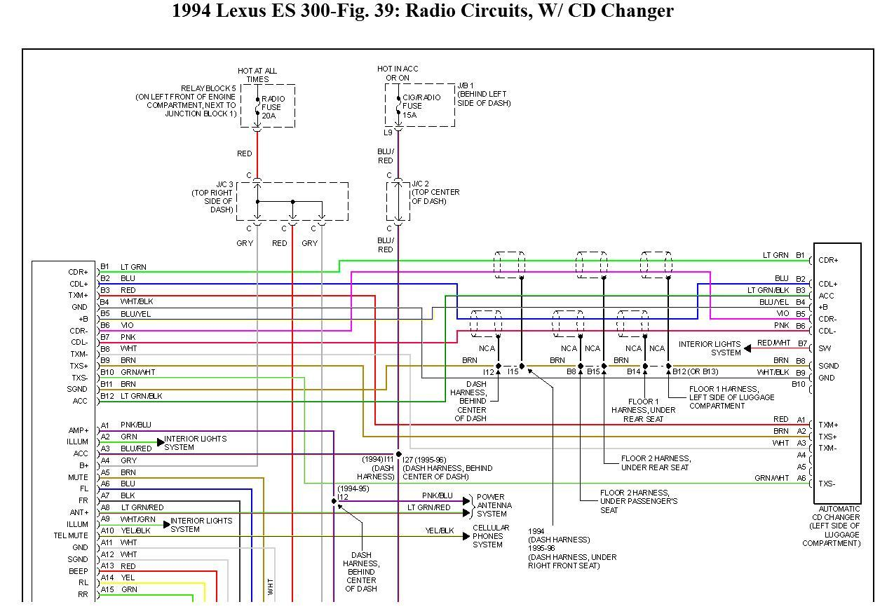 Wiring Diagram Lexu 2000