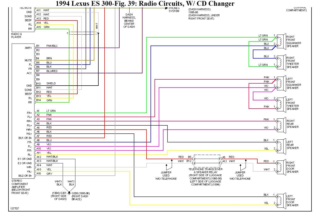 Diagram  1992 Lexus Es 300 Wiring Diagram Full Version Hd
