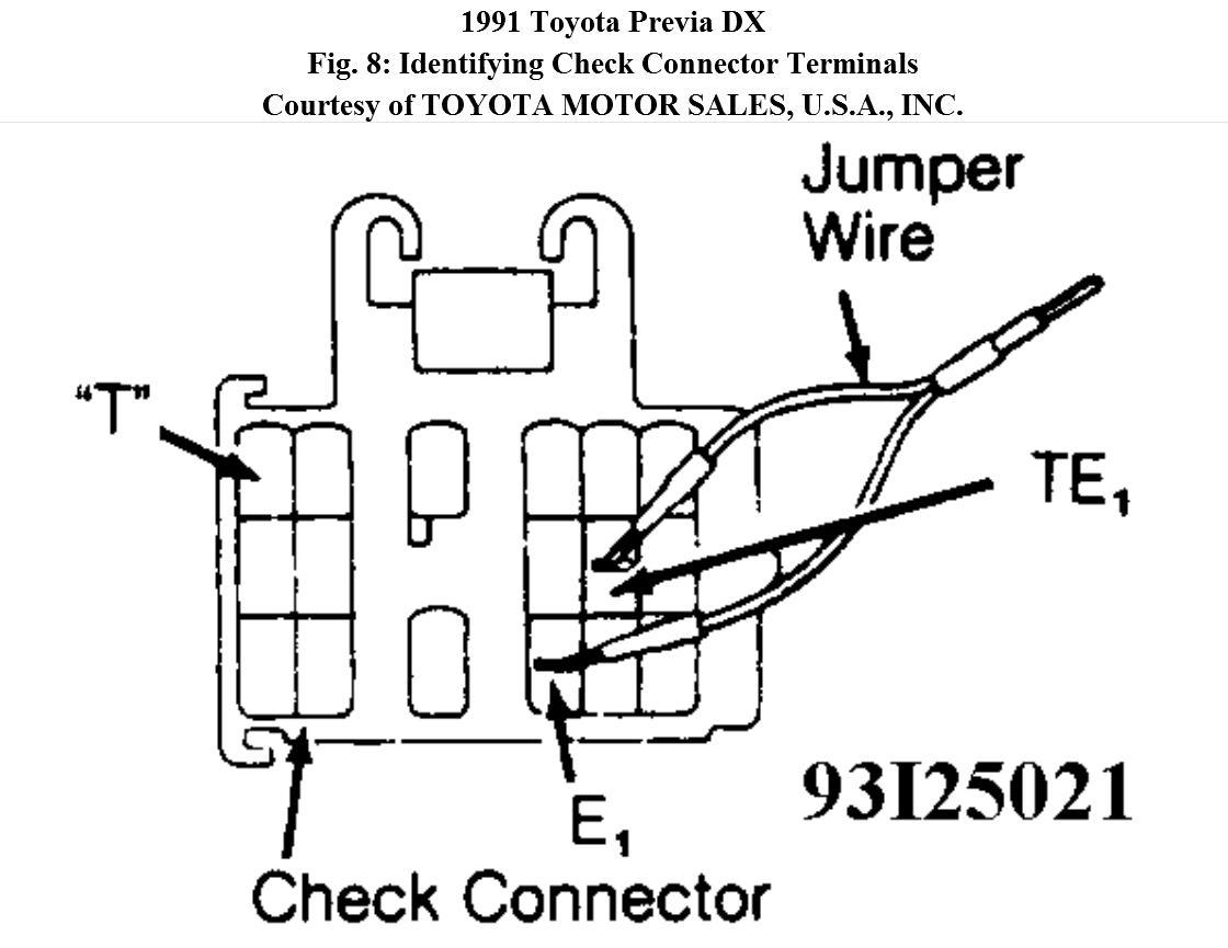 toyota previa plug wiring diagram