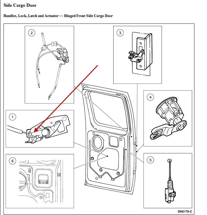 How  Where Does The Cable Bracket For The Exterior 60  40