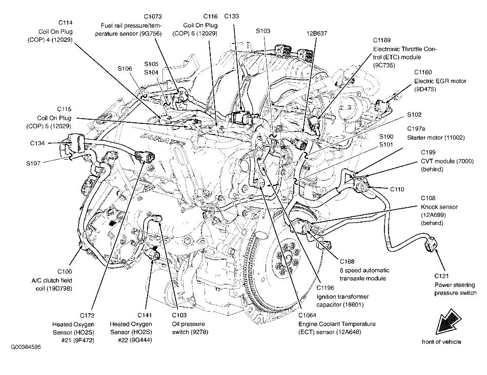 ford 500 engine diagram wiring diagram img  2005 ford five hundred engine diagram #3