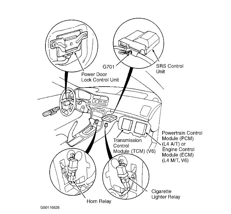 2000 honda accord v6 ecm diagram  honda  auto parts