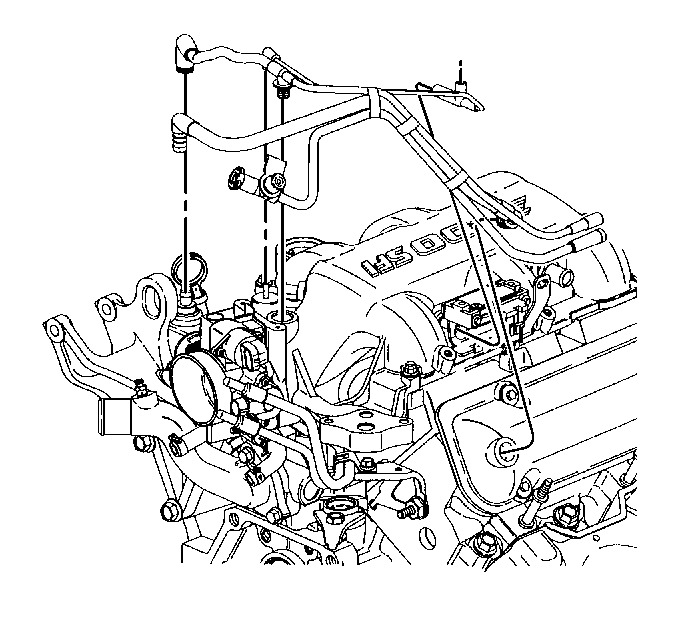 Chevy 305 Vacuum Line Diagram