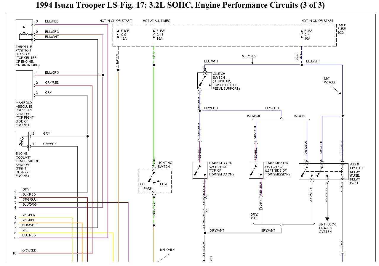 Isuzu Trooper Parts Diagram On Isuzu Trooper Schematics Isuzu Rodeo