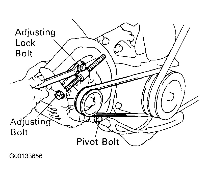 1996 toyota corolla pulley diagram