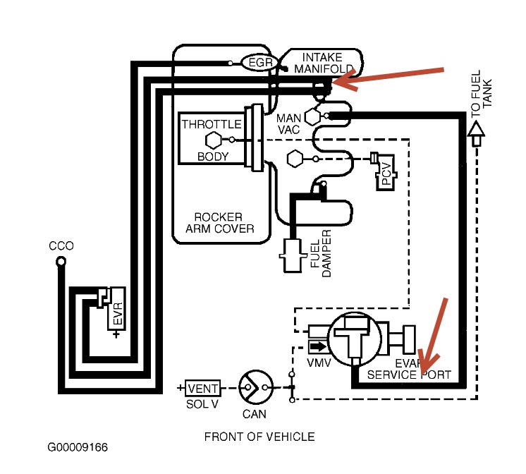 2000 ford ranger stalling and idling rough when cold it stalls rh 2carpros com 2000 ford ranger vacuum diagram pdf 2000 ford ranger 3.0 vacuum diagram