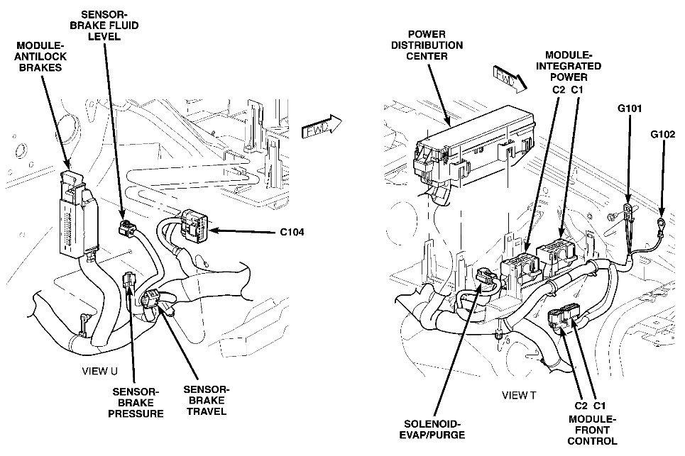 2005 Jeep Grand Cherokee Driver´s Door Unlock Relay