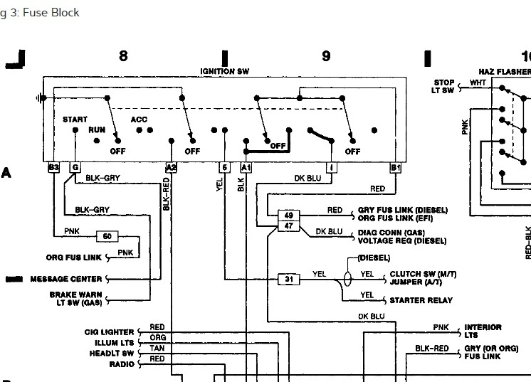 1989 dodge ram auto start wiring i am installing an auto start in 1989 buick reatta wiring diagram 1989 dodge ram wiring diagram #15