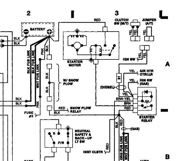 1989 Dodge Ram Auto Start Wiring  I Am Installing An Auto Start In