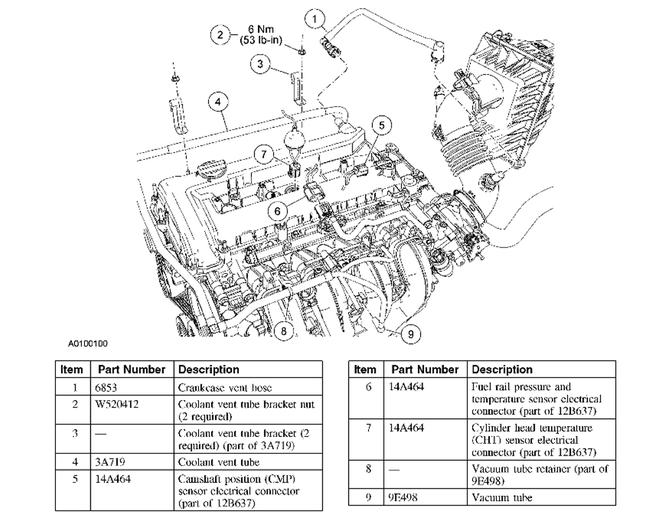2005 ford escape valve cover gasket need to know step by step to attached images