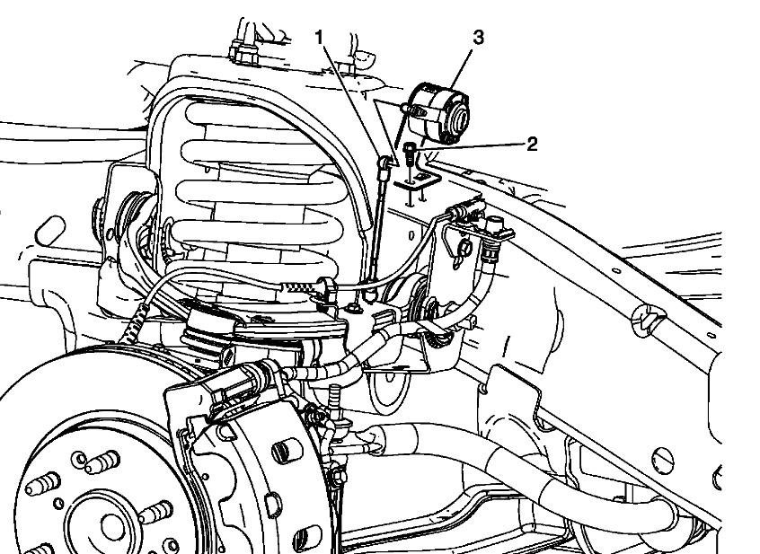 2007 gmc yukon denali front suspension schematic