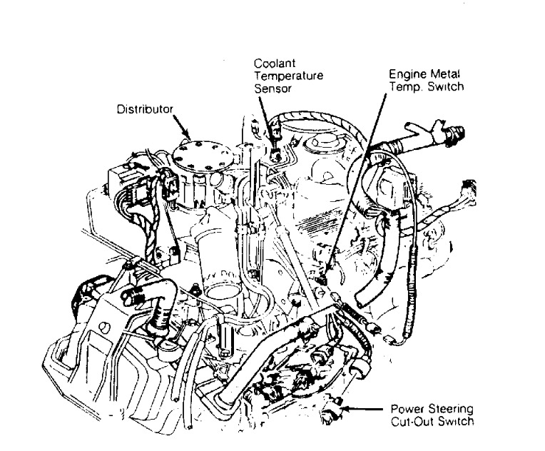 1988 cadillac el dorado engine cooling fan  when idling