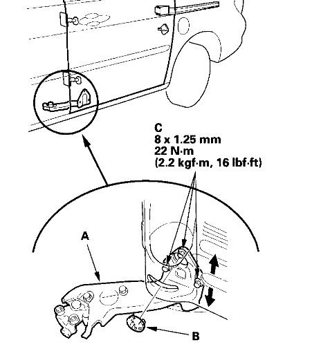 2005 honda odyssey sliding door wiring diagram  honda