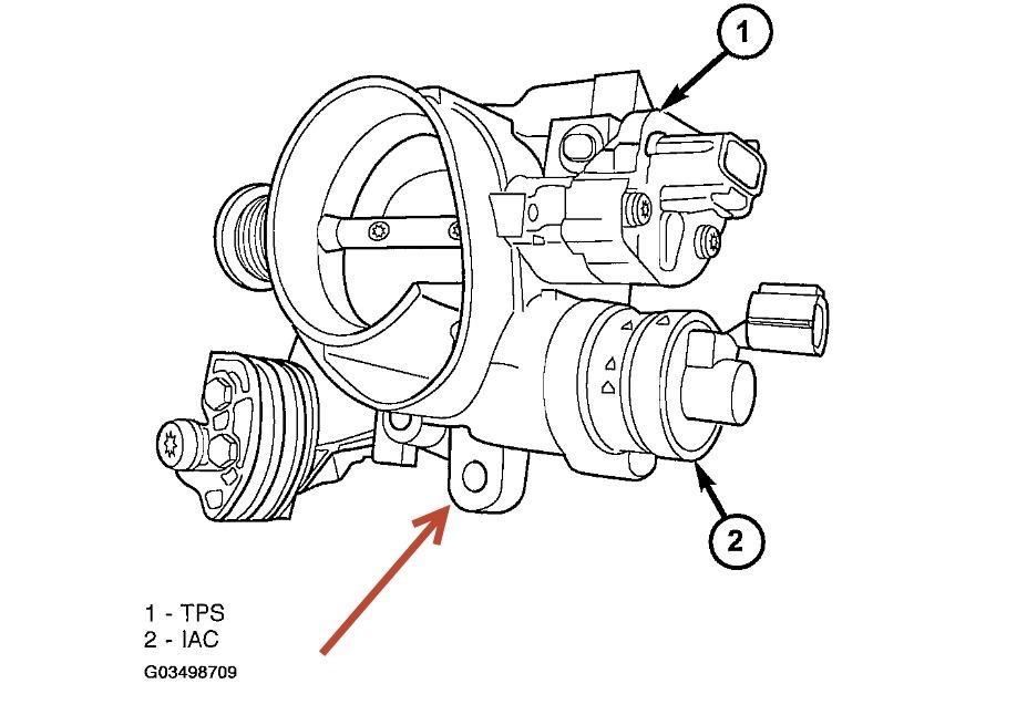 2004 Dodge Intrepid Removing Upper Air Intake Manifold