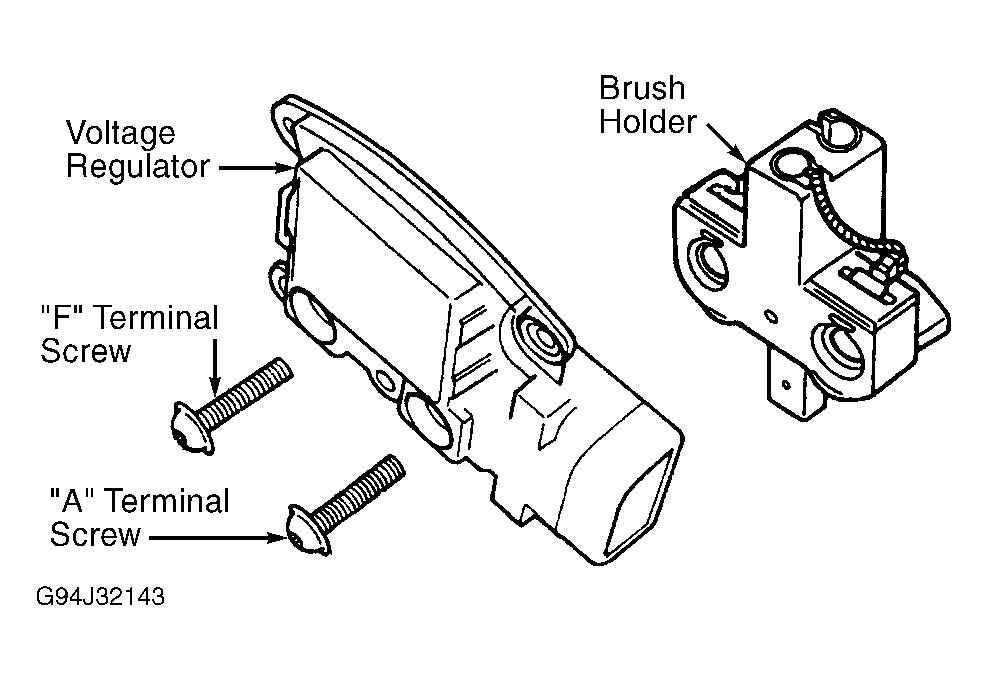 1998 Mercury Mystique Alternator I Had A The Go Out Rh2carpros: 1999 Ford Explorer Alternator Wiring Diagram At Gmaili.net