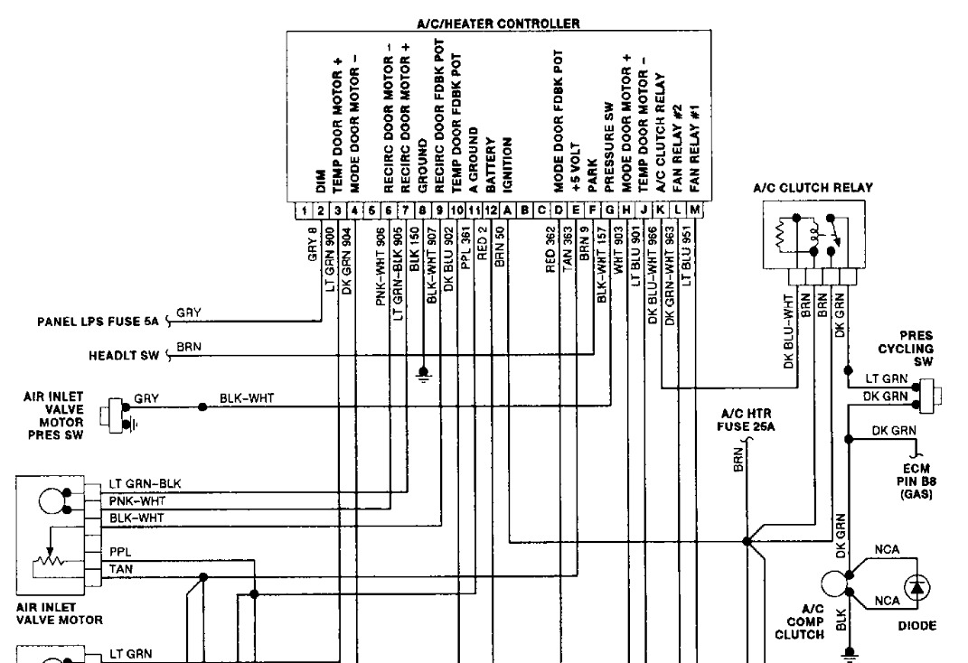 1990 chevy 1500 wiring harness   30 wiring diagram images