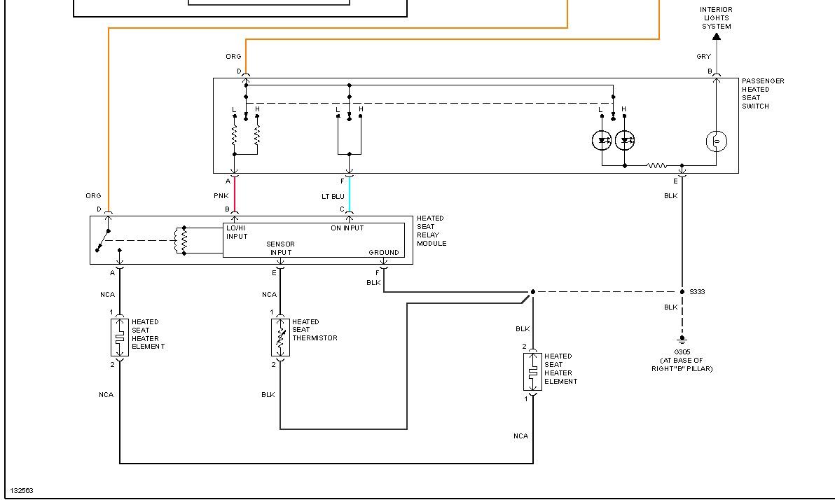 2000 Chevrolet Monte Carlo Power Seat Diagrams  I Have A