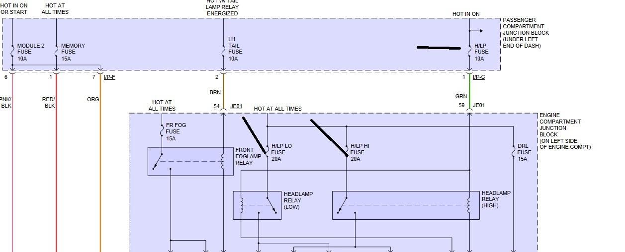 2007 hyundai azera headlight problems electrical sometimes Hyundai Azera Wiring Diagrams