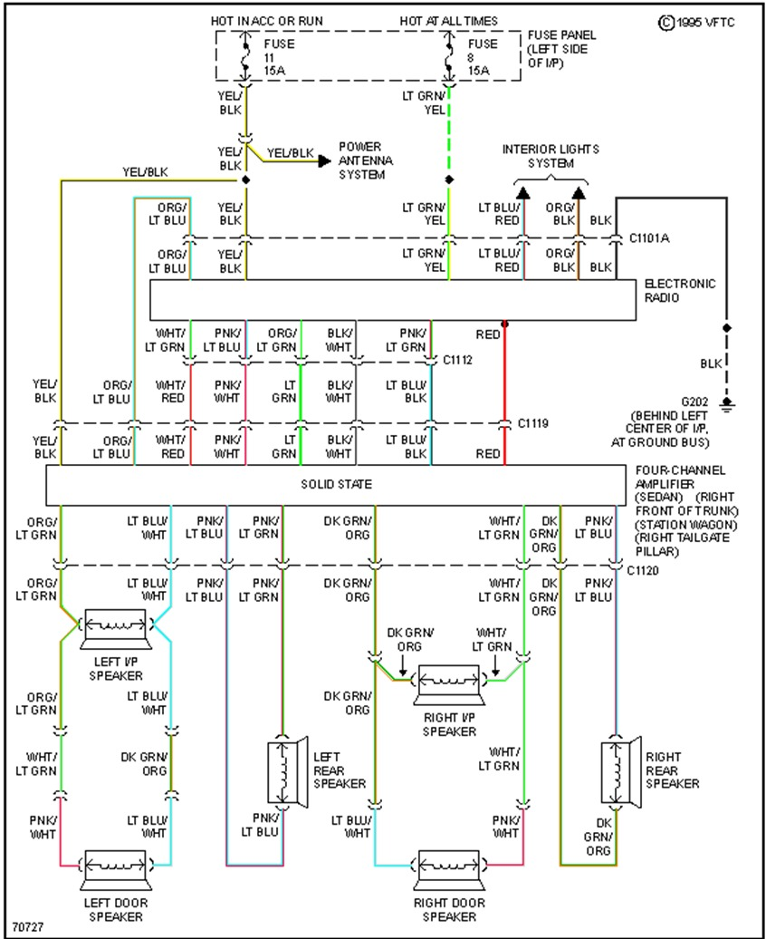 Original on wiring diagram for 2005 ford crown victoria