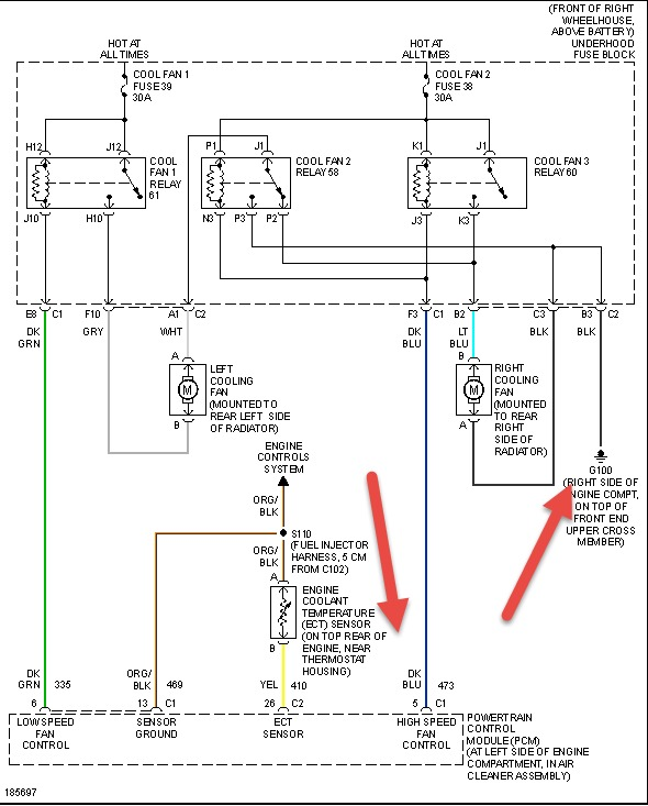 Thumb: Cooling Fan Relay Wiring Diagram Saturn At Hrqsolutions.co