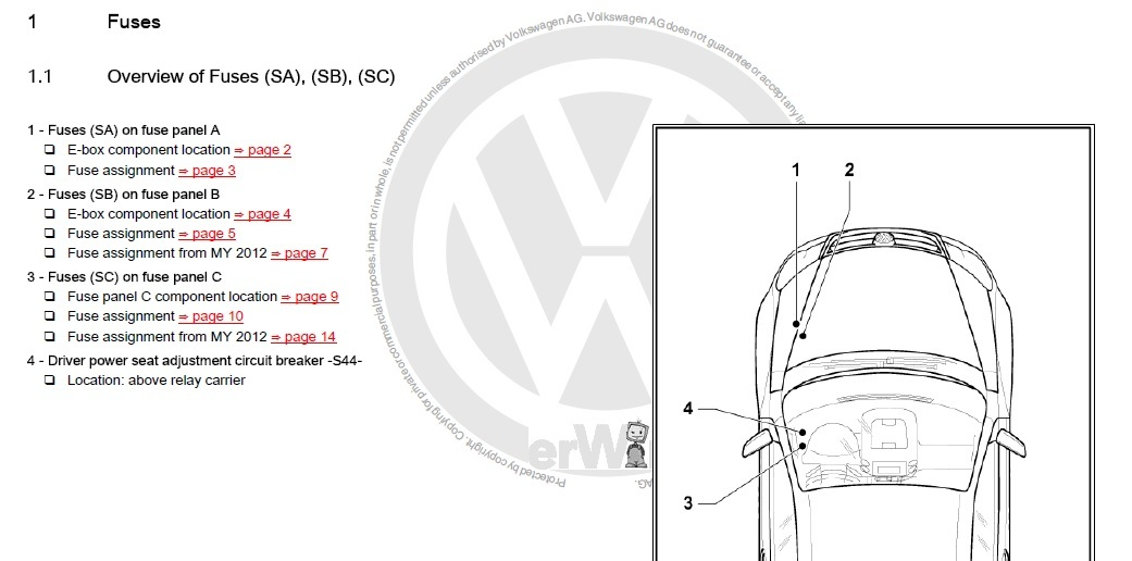 2015 vw jetta tsi fuse box diagram