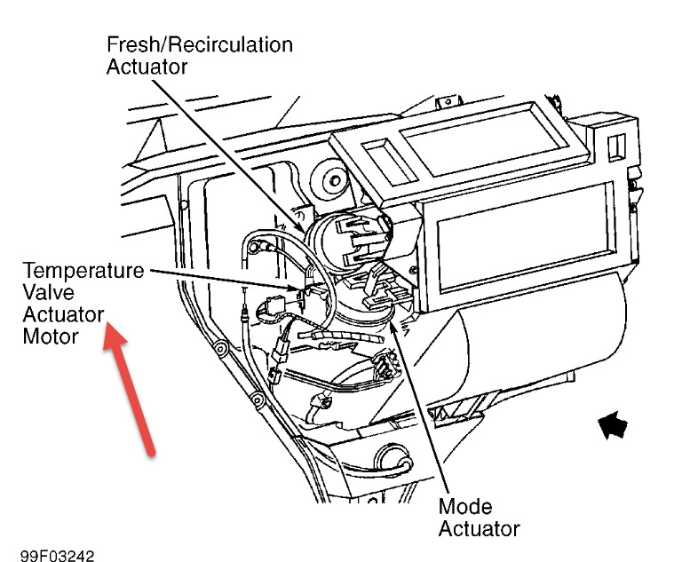Chevy Actuator Valve Wiring Diagram No Heat Chevy Blazer No Heat
