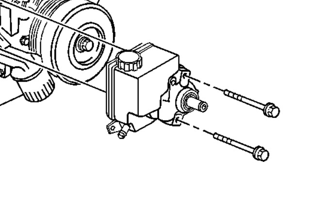 changing a power steering pump  how to change a power