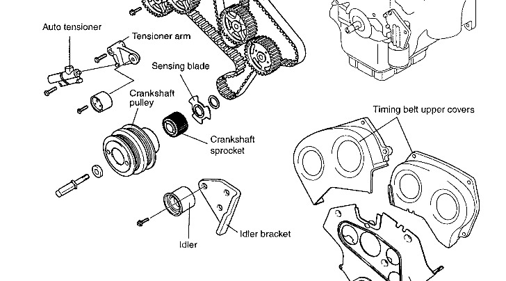 2004 kia amanti timing belt diagram