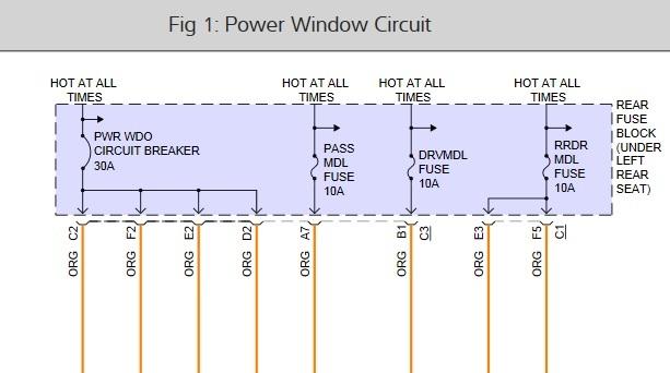 2001 Oldsmobile Aurora Electrical Problem: Driver Side ...