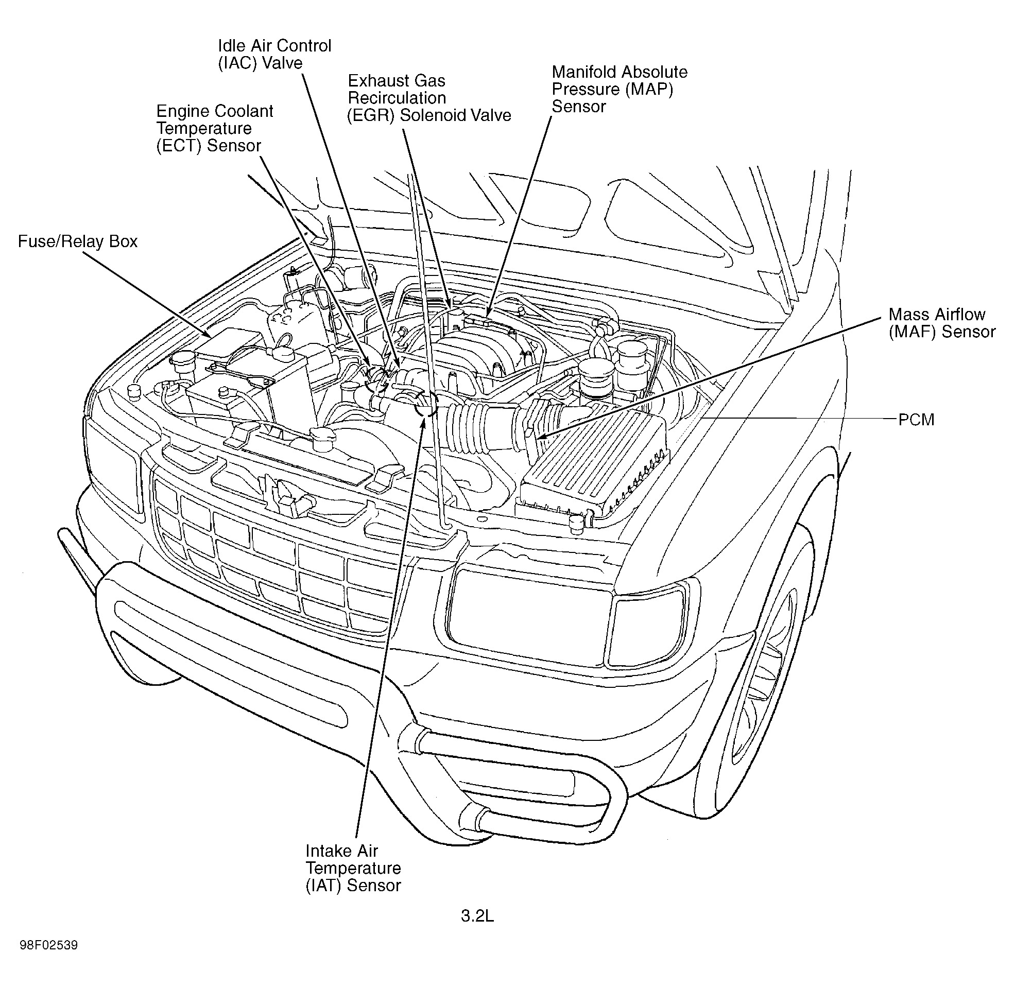 isuzu rodeo spark plug diagram