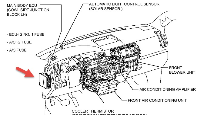 ford engine vacuum diagram